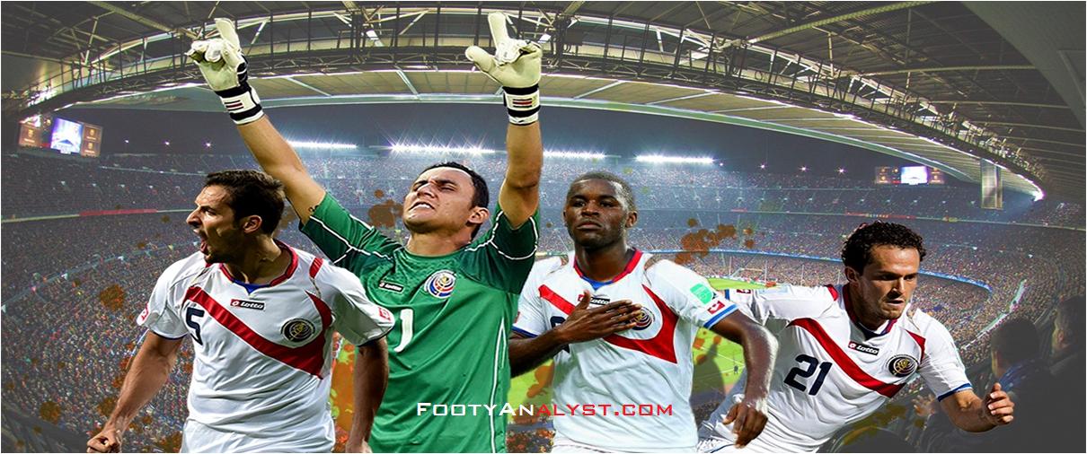 03bdd446cbf Costa Rica s five-week journey into 2014 World Cup glory - Footy Analyst